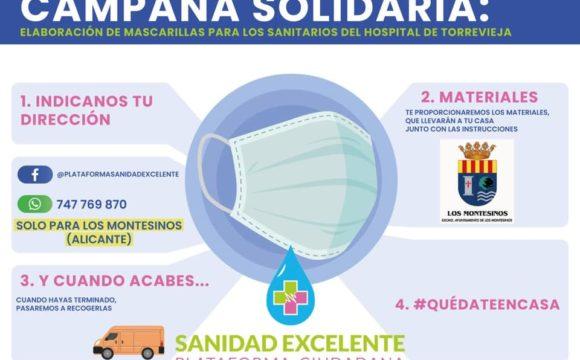 LOS MONTESINOS SE SUMAN A LA CAMPAÑA DE SANIDAD EXCELENTE