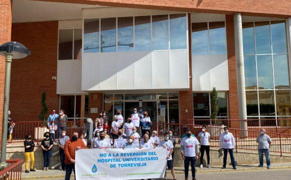 EXCELENTE ACOGIDA DEL PUEBLO DE ROJALES MOSTRANDO SU APOYANDO A LOS TRABAJADORES DEL HOSPITAL Y EL DEPARTAMENTO DE SALUD 22